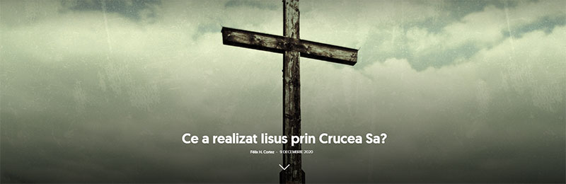 Ce a realizat Iisus prin Crucea Sa?